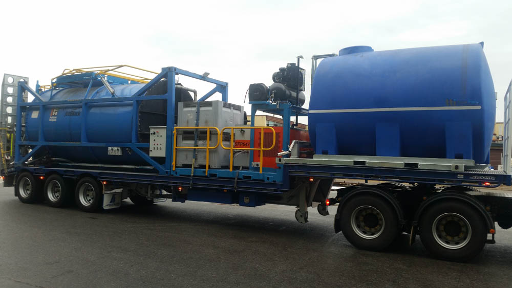 A picture of a slurry recycler